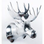 Aluminium moose head