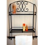 Black Towel Rail