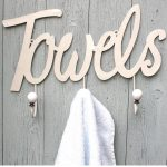 TOWEL hooks Cream c