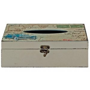 Vintage Style Car Vehicle Tissue Box Holder