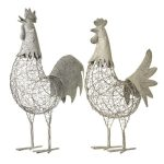 Large-Grey-Chicken-Hen-Decoration
