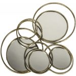 SYD010_Antique-Gold-Bronze-Circles-Wall-Mirror