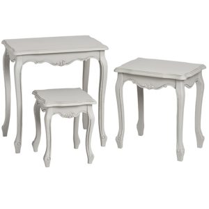17049-a-French-Vintage-Grey-Nested-Tables-Set