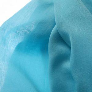 48118_1 Soft Grey Blue Fabric Scarf