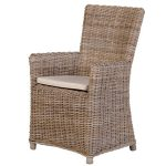 INT2703 New England Wicker Carver Chair