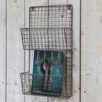 MRCO02_Vintage Industrial Style Wire Rack