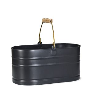 UBCN01_2 Dark Grey Metal Utility Bucket