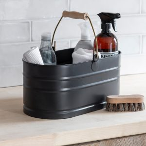 UBCN01_Dark Grey Metal Utility Bucket