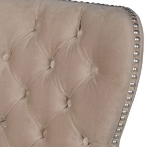 bel021_2_Beige Upholstered Fabric Bar Chair Stool