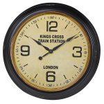 HMV018 Antique Style Kings Cross Wall Clock