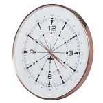 KNG268 Extra Large Contemporary Style Copper Wall Clock