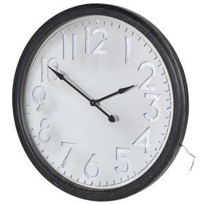 stn1306_1_Extra Large Black Light Up Clock