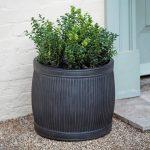 BTPL01S Hand Made Grey Garden Planter