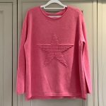 Pink star jumper a