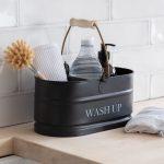 WACN01 Dark Grey Wash Up Tidy Container 2