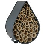 Contemporary Grey Raindrop Insect Bee House 3