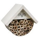 Cream Metal Insect Bee House