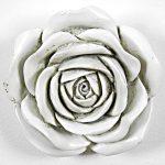 5321 White Rose Wall Hanging Decoration