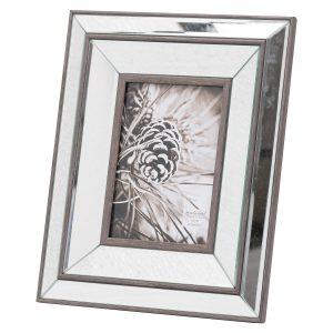 20837 Luxury Bevelled Mirror 5 x 7 Frame