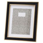 20850 Black Velvet Gold Metal 8 x 10 Frame