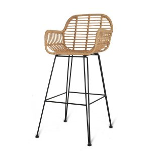 BSRA04_Weather Proof Bamboo Bar Stool