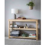 BVSU01 a Wide Brookville Pine Shelving Unit