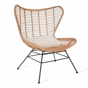 CHRA06_Weatherproof Bamboo Winged Back Chair