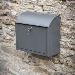 PBCO09_a-Contemporary-Style-Grey-Wall-Post-Box