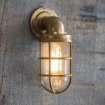 LABR03 Devonport Down Light - Brass